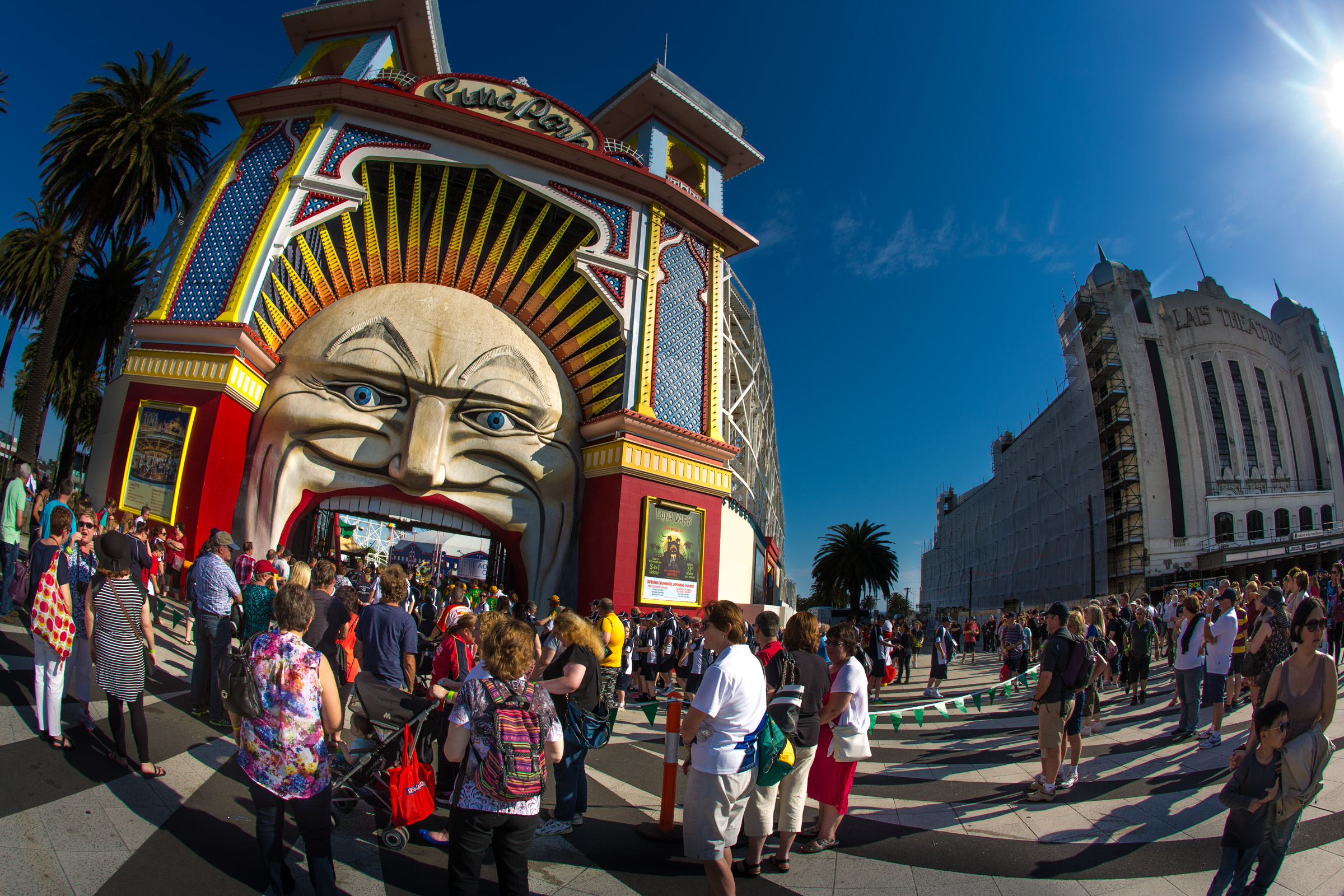 event photography at luna park