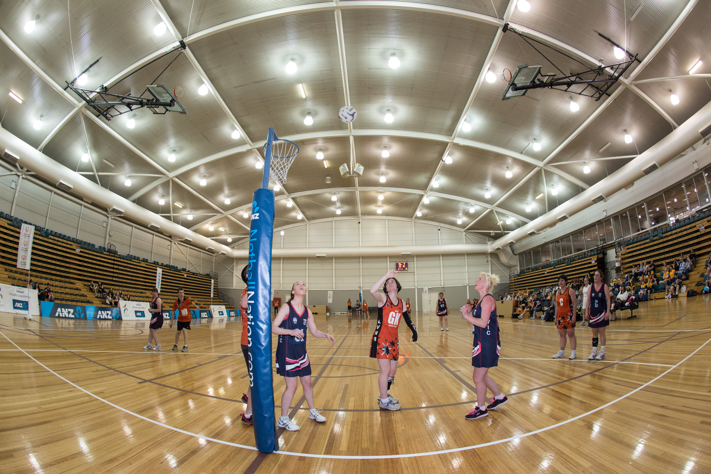 event photography netball